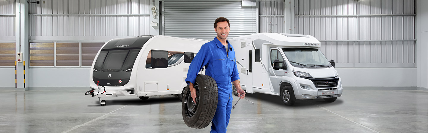 new caravans and motorhomes aftersales and servicing - Block Image
