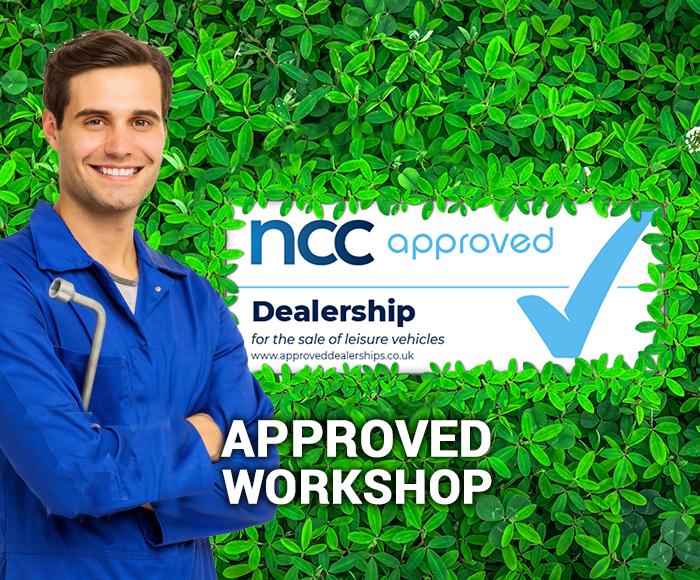 NCC Approved Workshop - Block Image