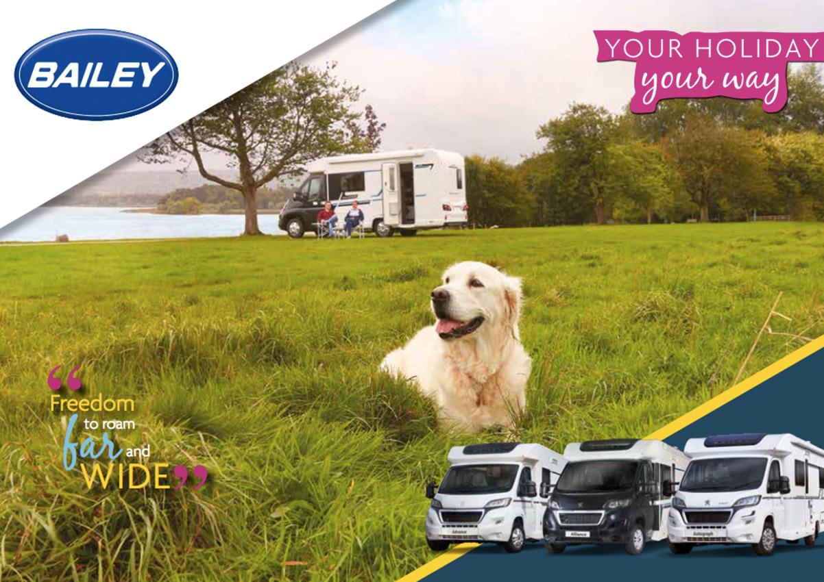 2019 Bailey Motorhome Brochure