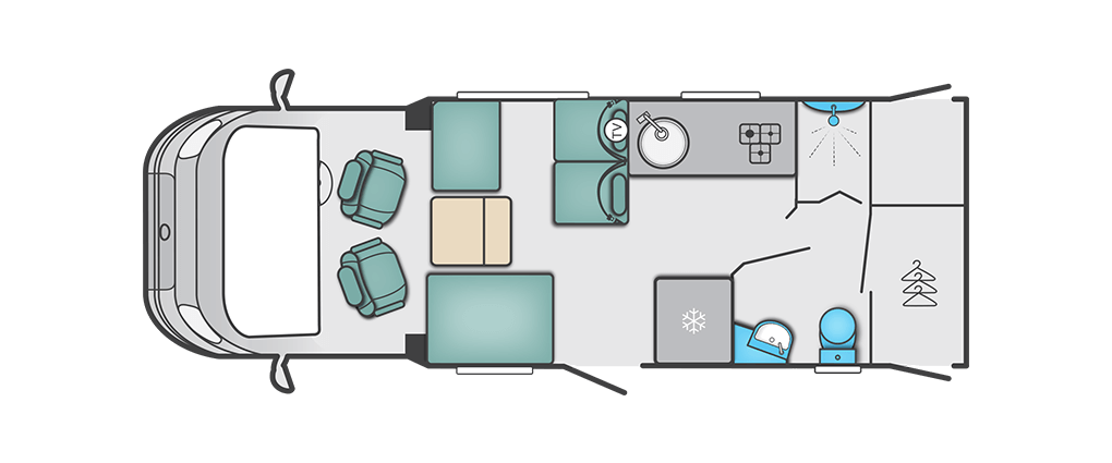Swift Corniche Special Edition 614 Floorplan
