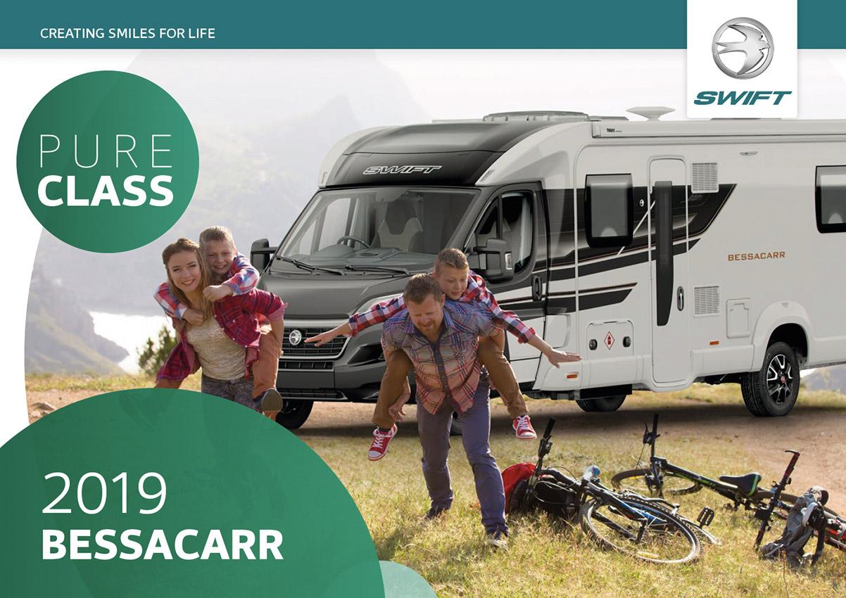 2019 Swift Bessacarr Caravan Brochure