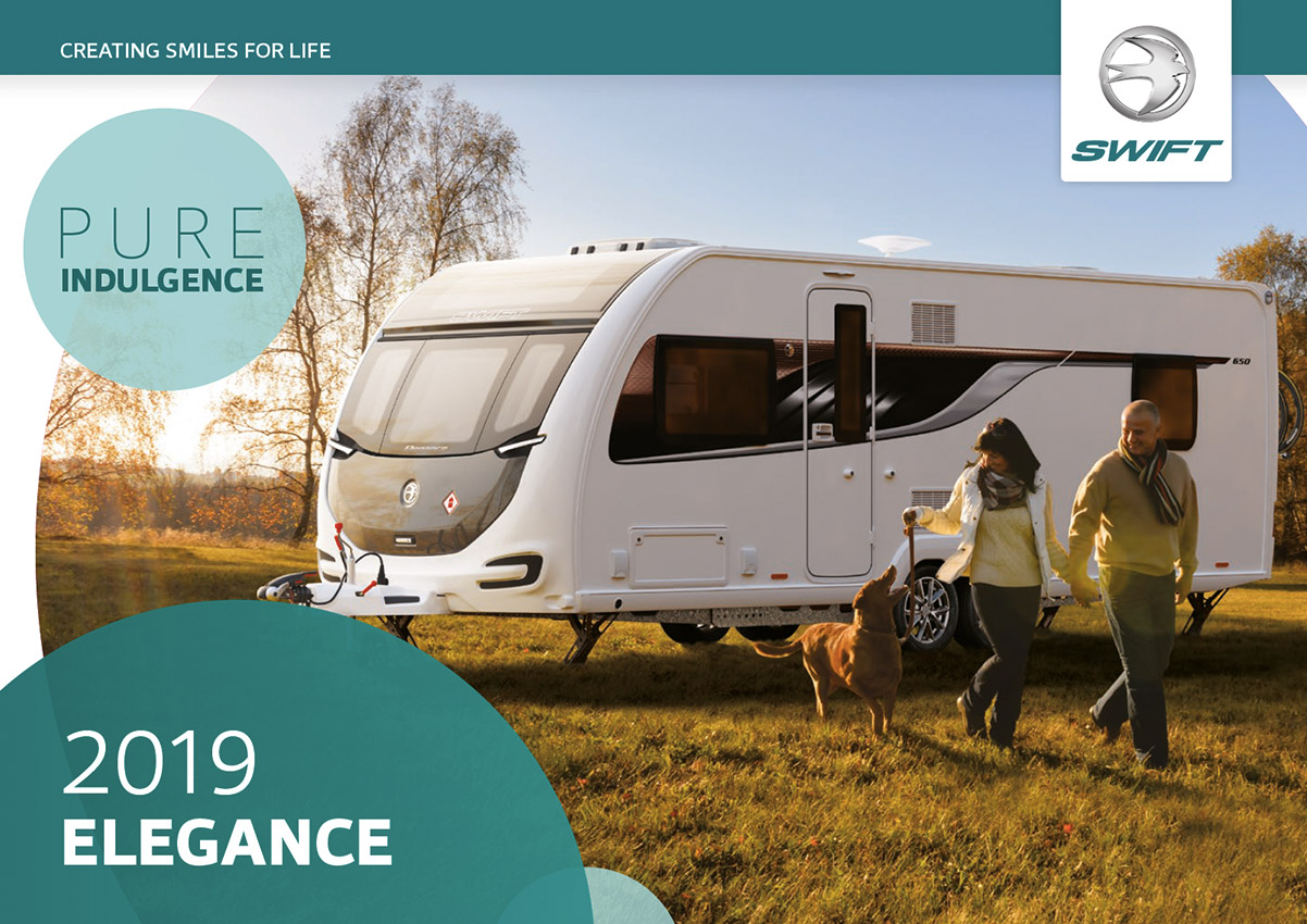 2019 Swift Elegance Caravan Brochure