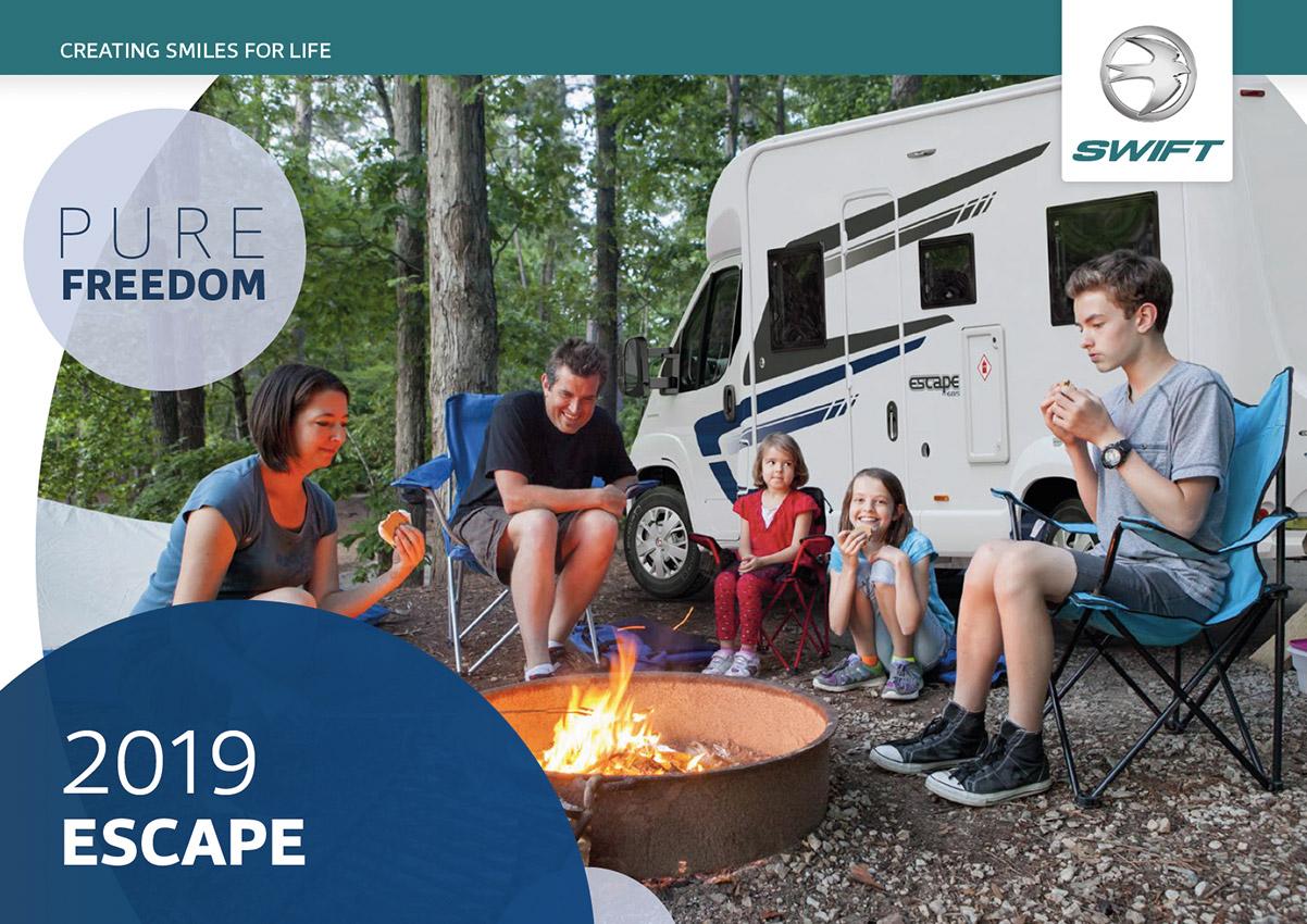 2019 Swift Escape Motorhome Brochure