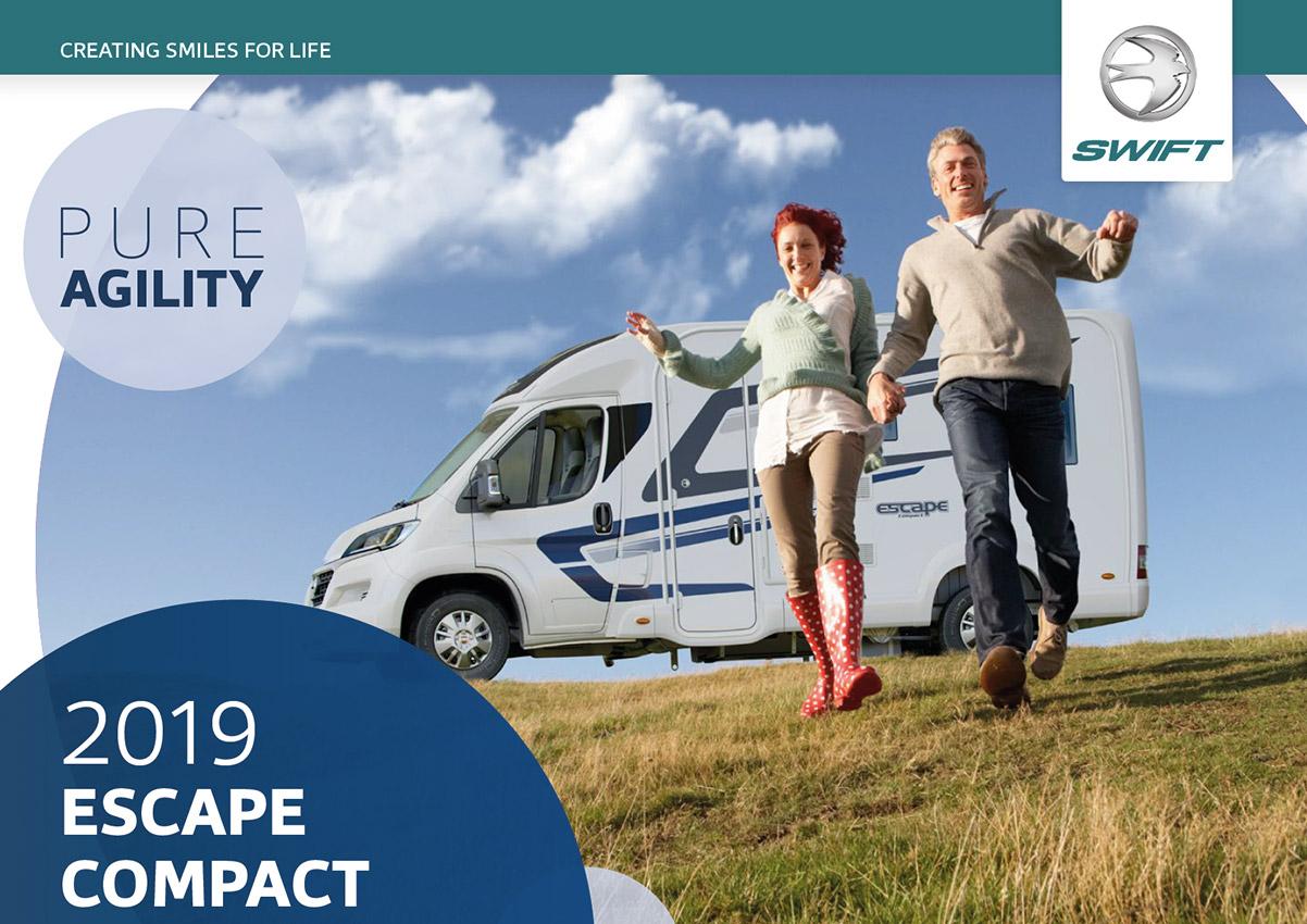 2019 Swift Escape Compact Motorhome Brochure