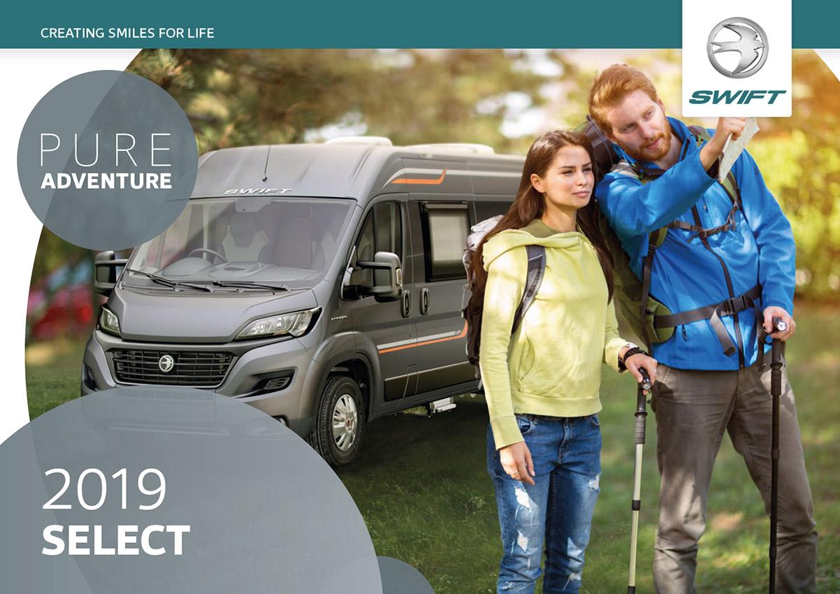 2019 Swift Select Motorhome Brochure
