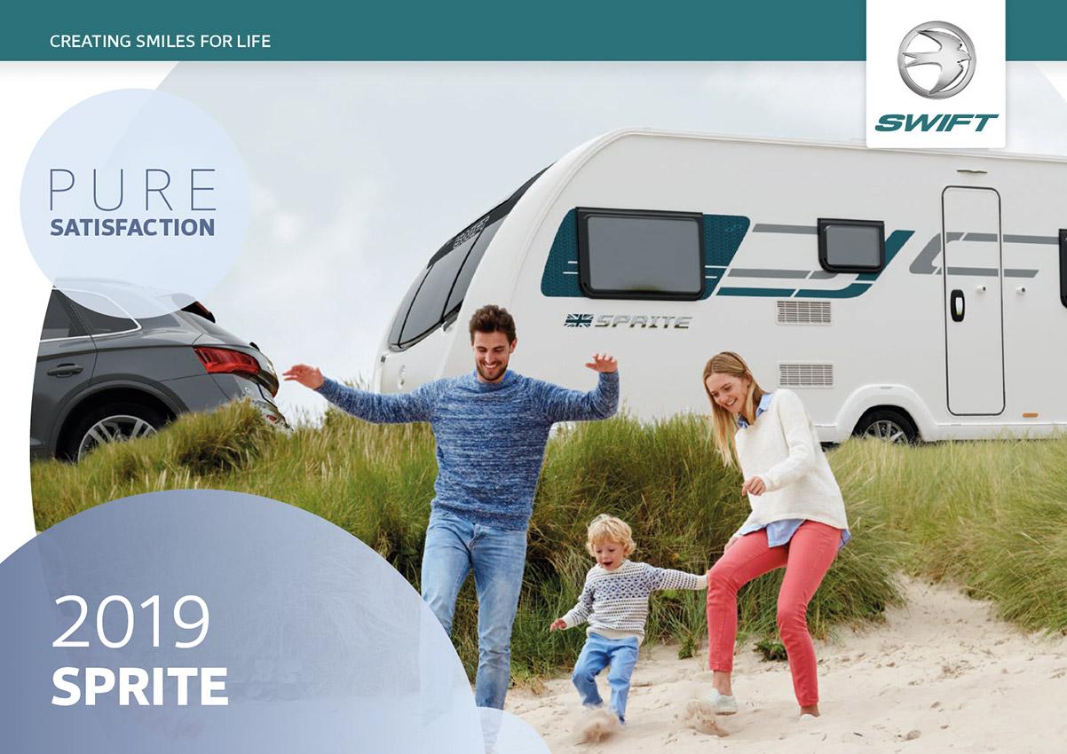 2019 Swift Sprite Caravan Brochure