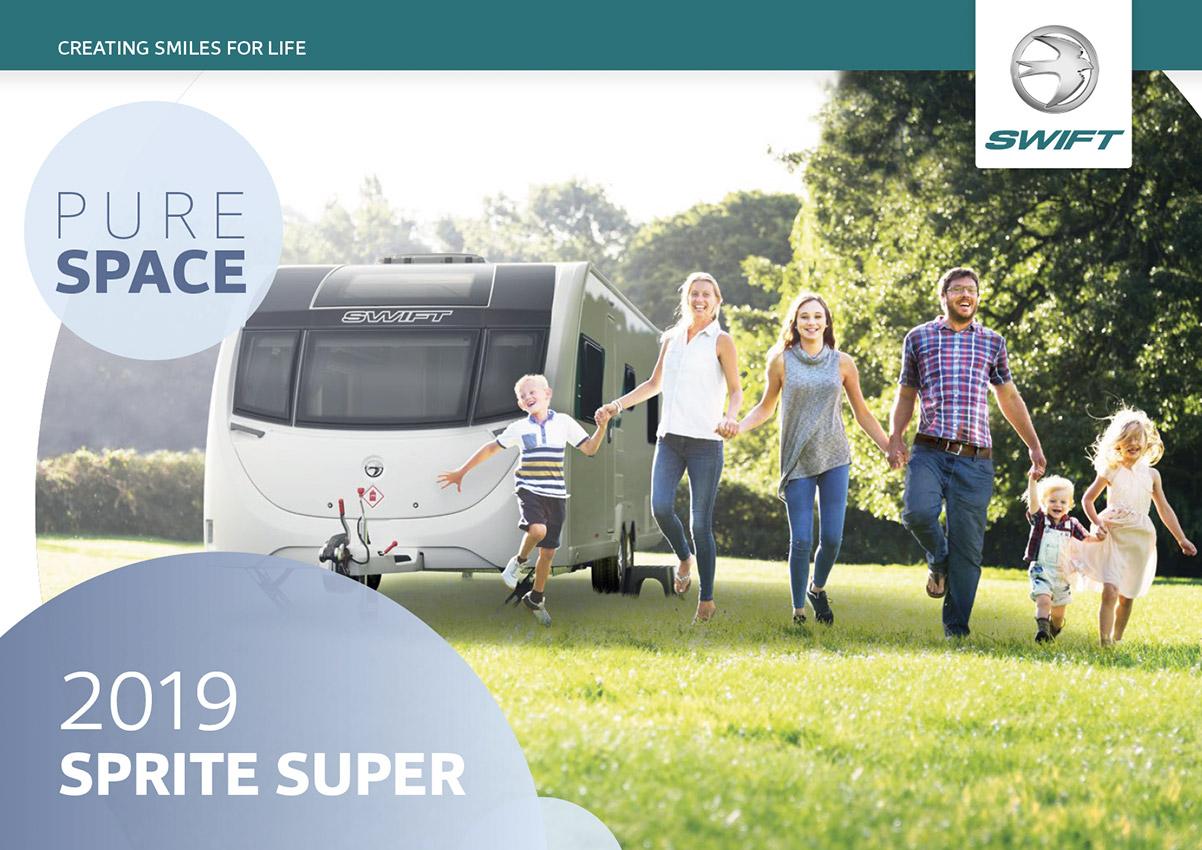 2019 Swift Sprite Super Caravan Brochure