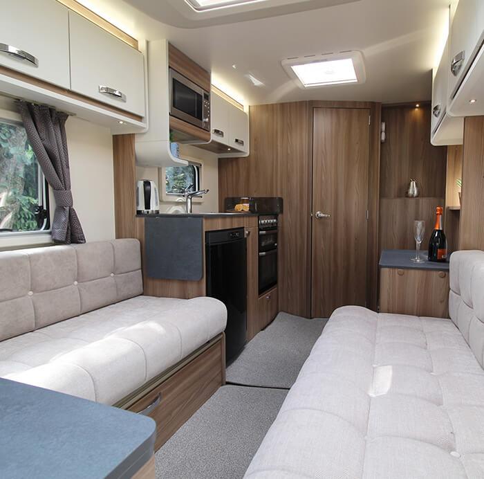 Swift Ace caravans, a firm UK favourite special edition  - Block Image