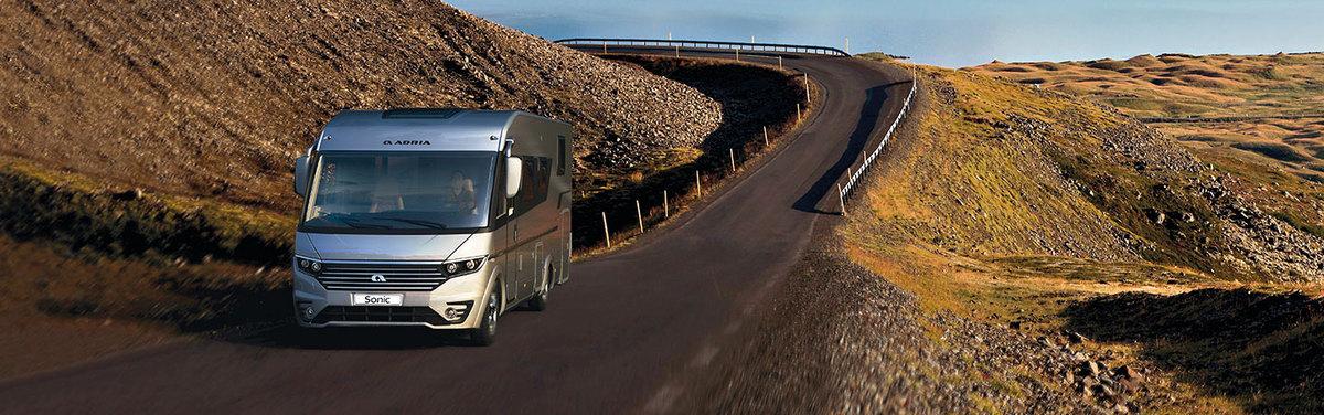 New 2021 Adria Motorhomes & Campervans - Block Image