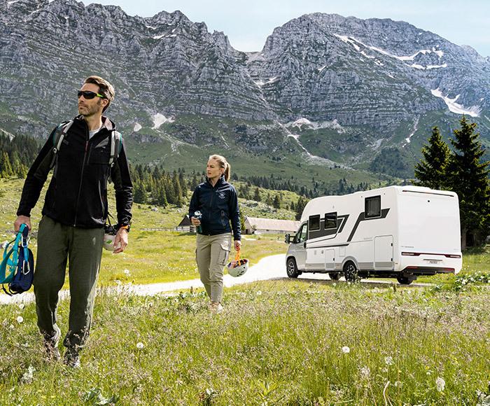 The Adria motorhome & campervan range - Block Image
