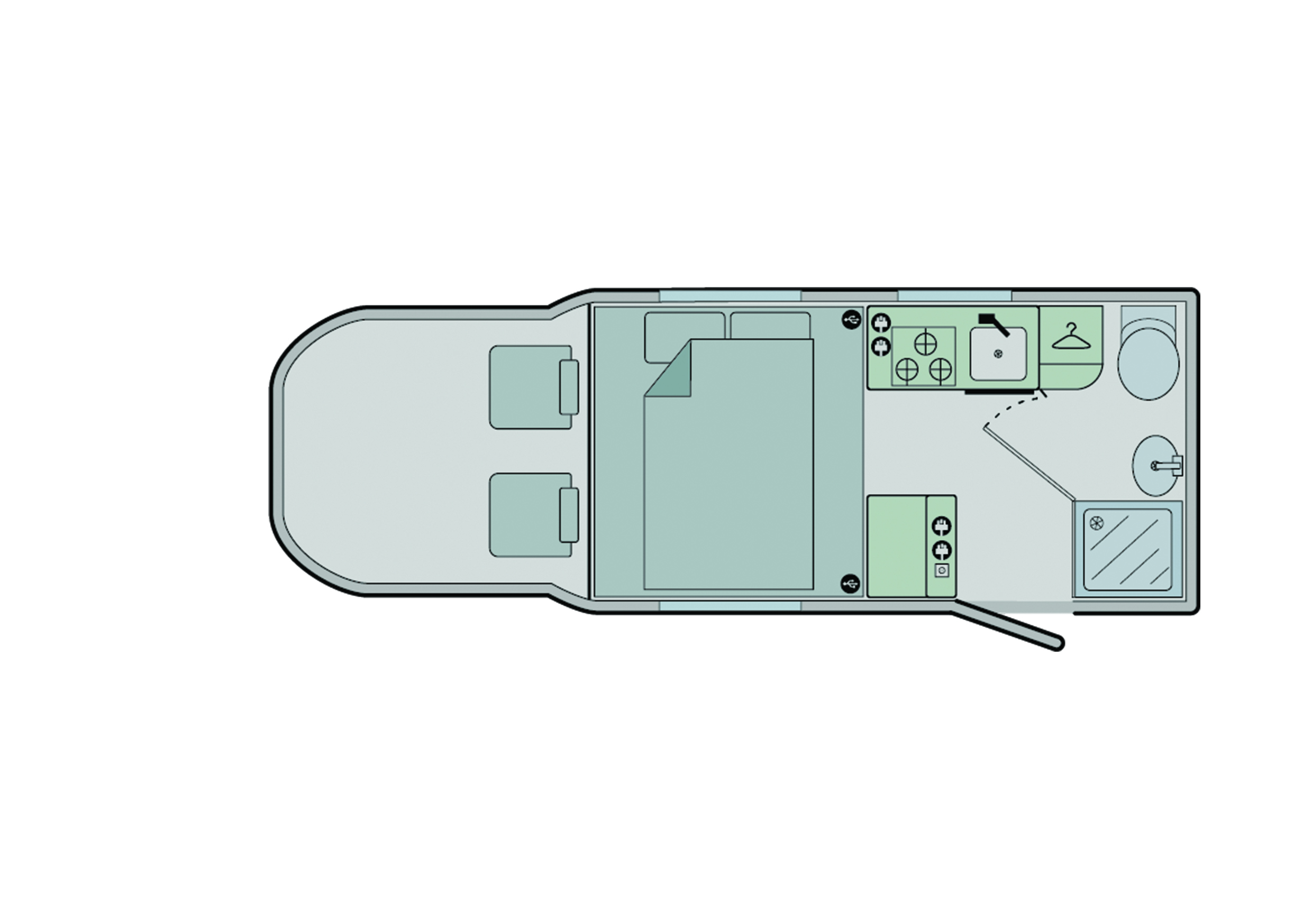Bailey Alliance Silver Edition 66-2 2020 Floorplan