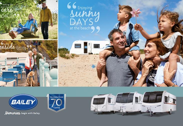 The 2018 Bailey Caravan Brochure