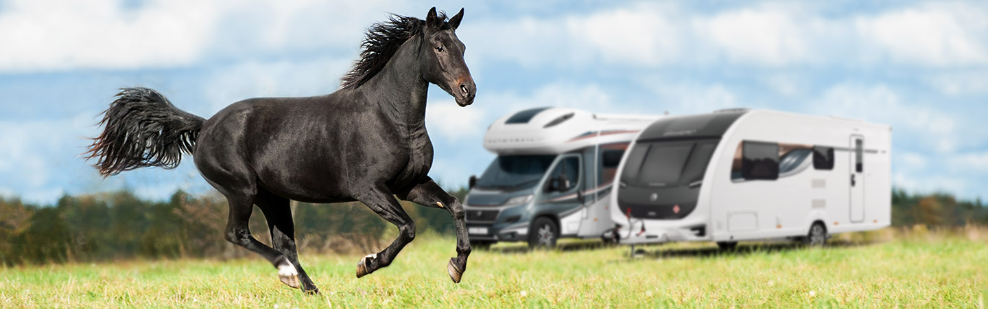 New and used motorhome and caravan finance Banner - Block Image