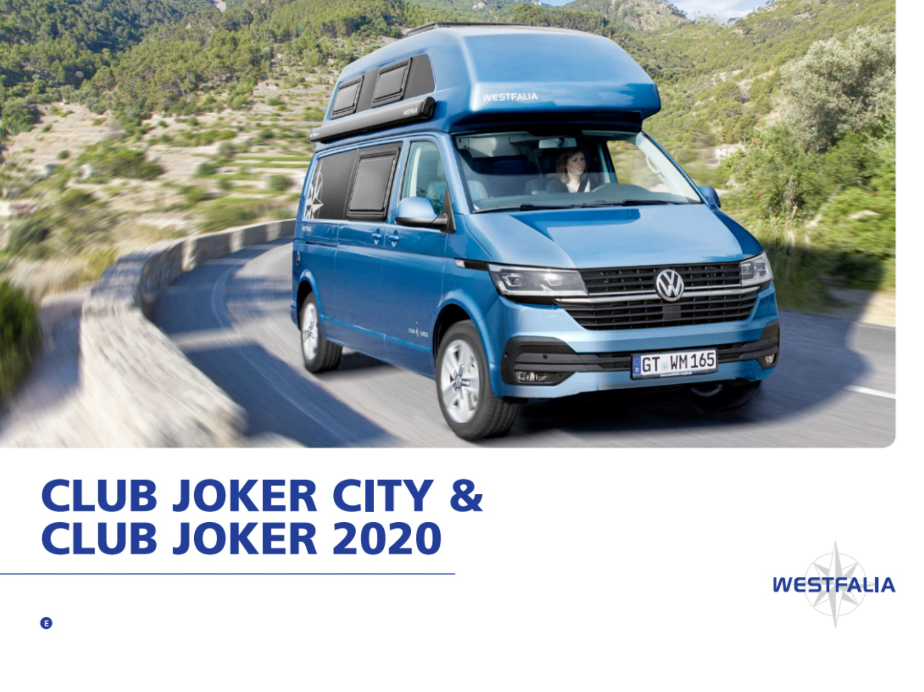 2020  Westfalia Club Joker Brochure