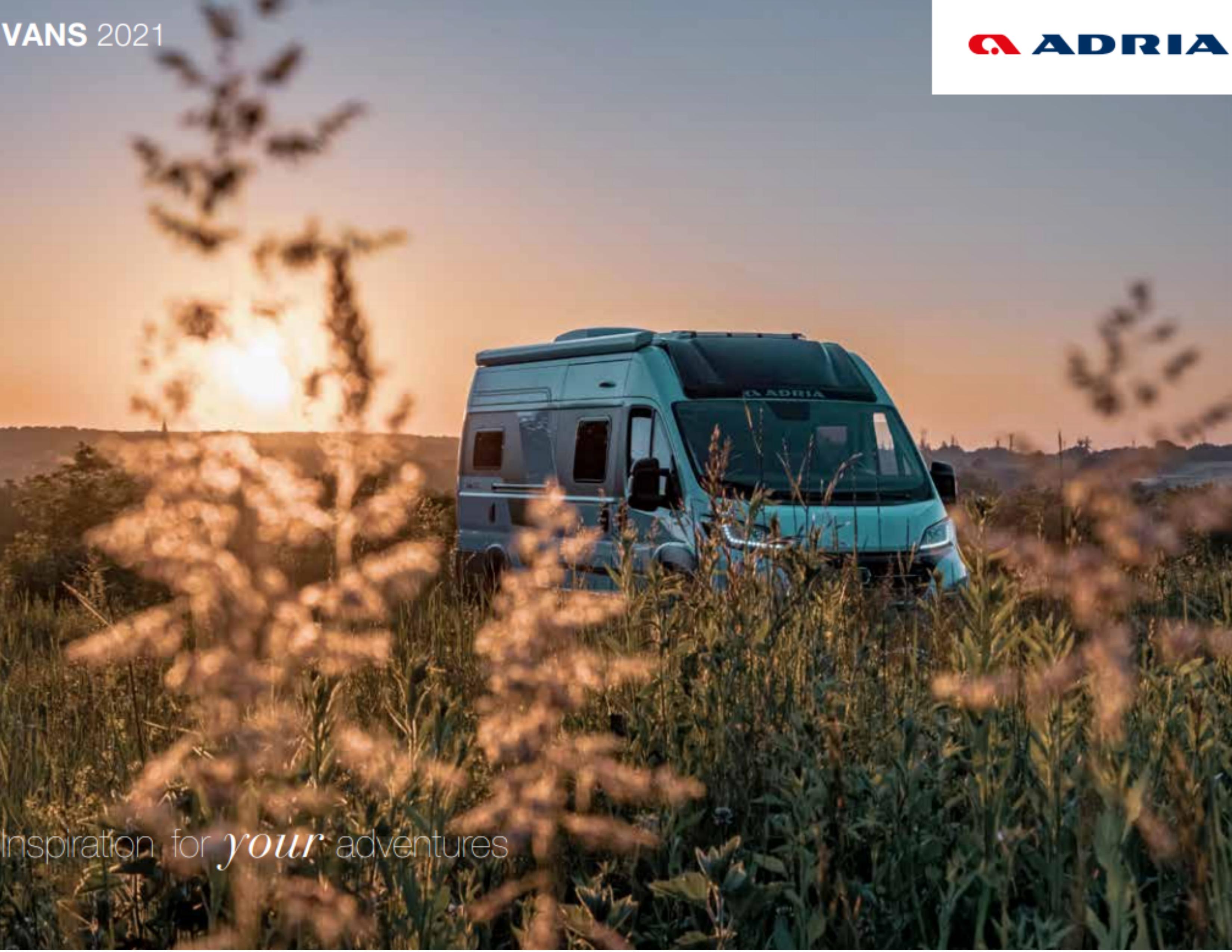 2021 Adria Campervans
