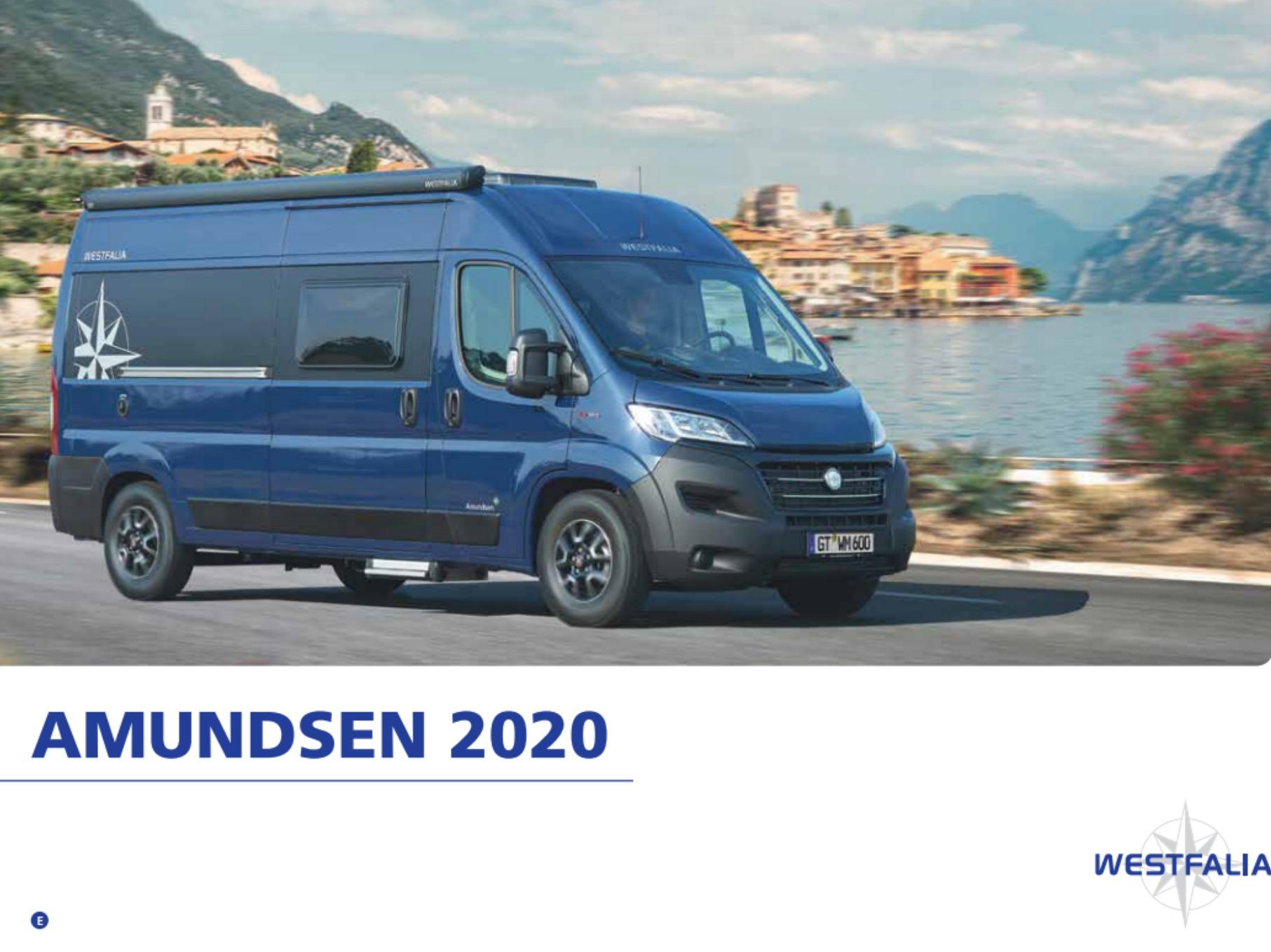 2020 Westfalia Amundsen Brochure