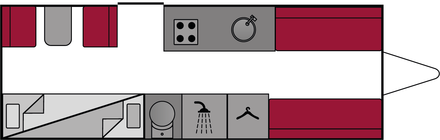 Bailey Pursuit 570-6 2018 Floorplan