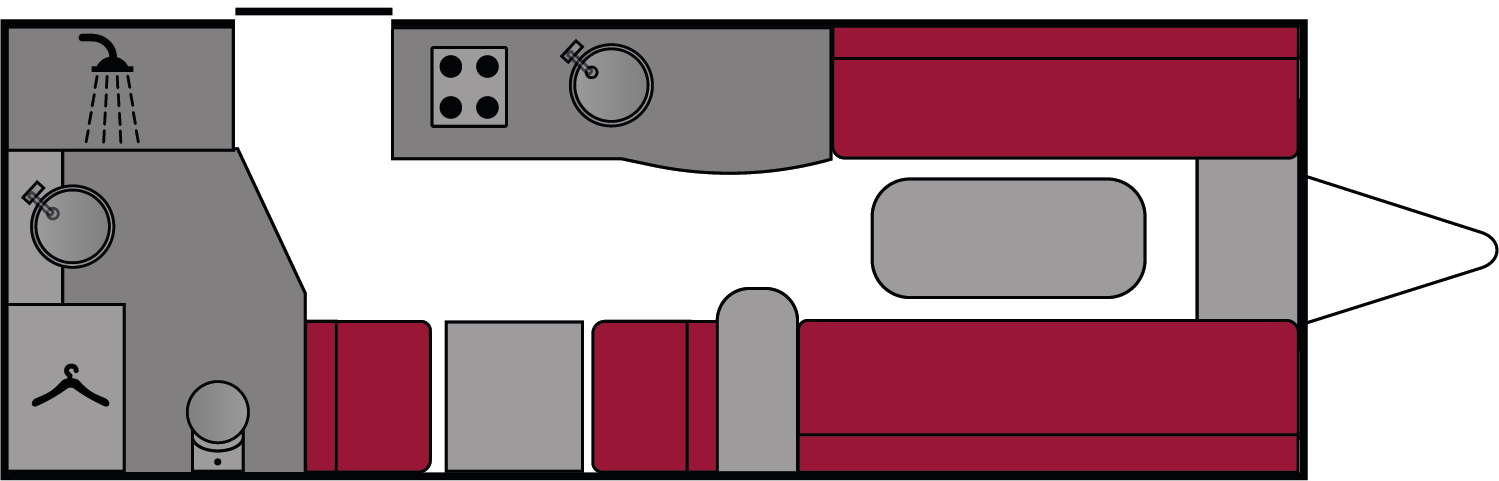 Swift Corniche 15/2 2017- Wandahome Special Edition Floorplan