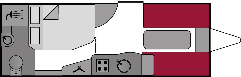 Bailey Pegasus Verona 2018 Floorplan