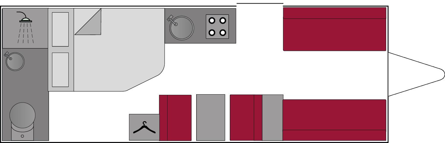 Swift Sprite Quattro EW 2018 Floorplan
