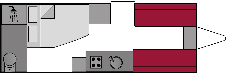 Abbey GTS 418 2008 Floorplan