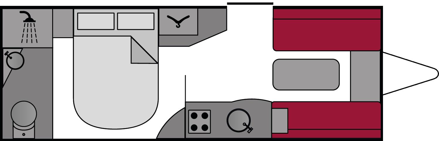 Lunar Clubman SI 2018 Floorplan
