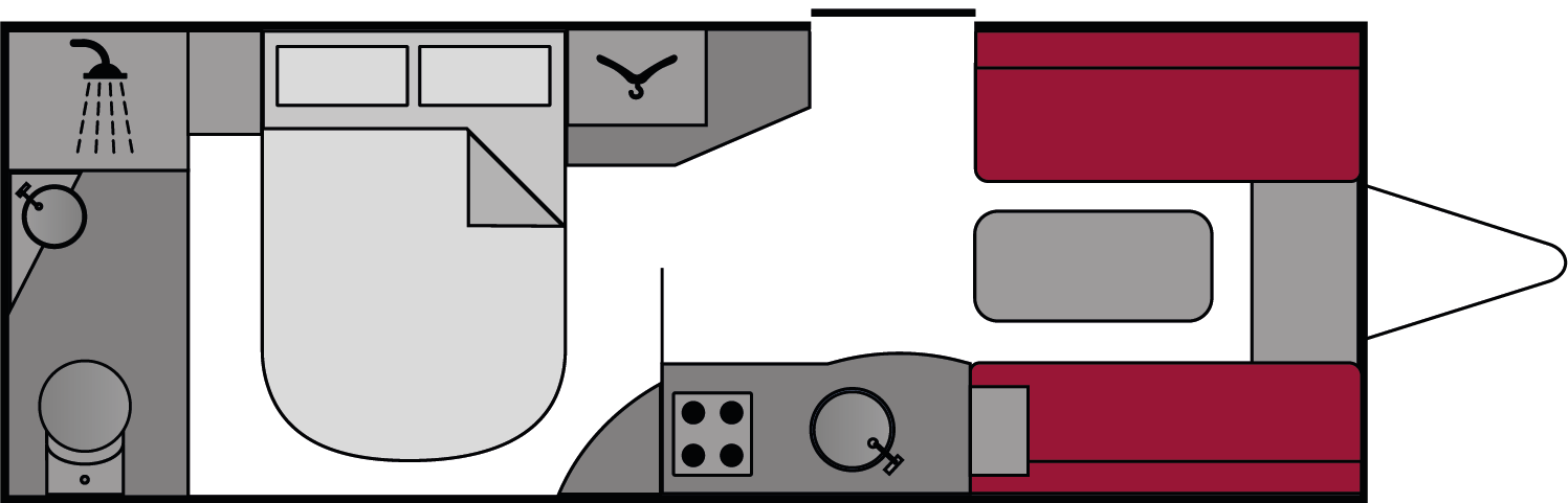 Bailey Pegasus 554 2010 Floorplan