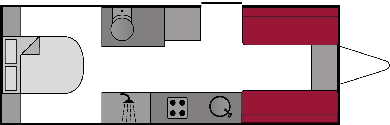 Lunar Clubman SR Moon Edition 2017 Floorplan
