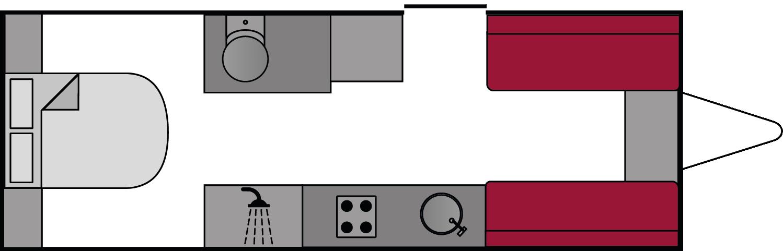 Lunar Clubman SR 2018 Floorplan