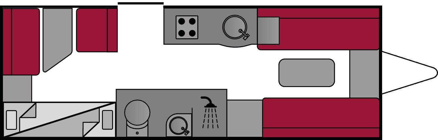 Swift Challenger 590 2018 Floorplan