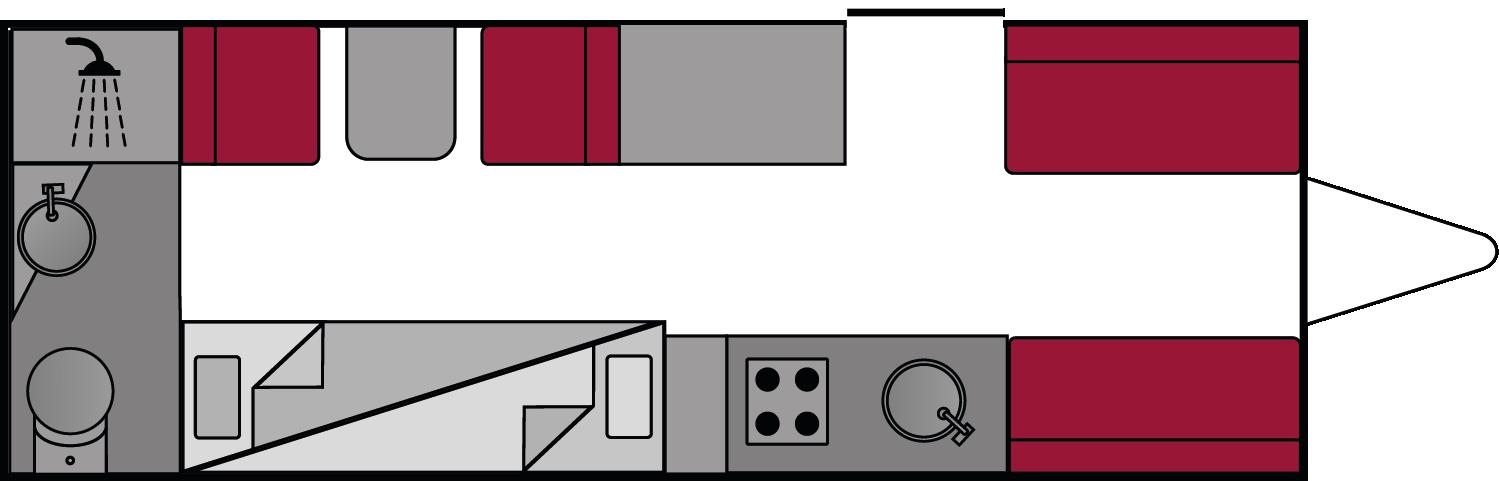 Bailey Pursuit 560-5 2018 Floorplan