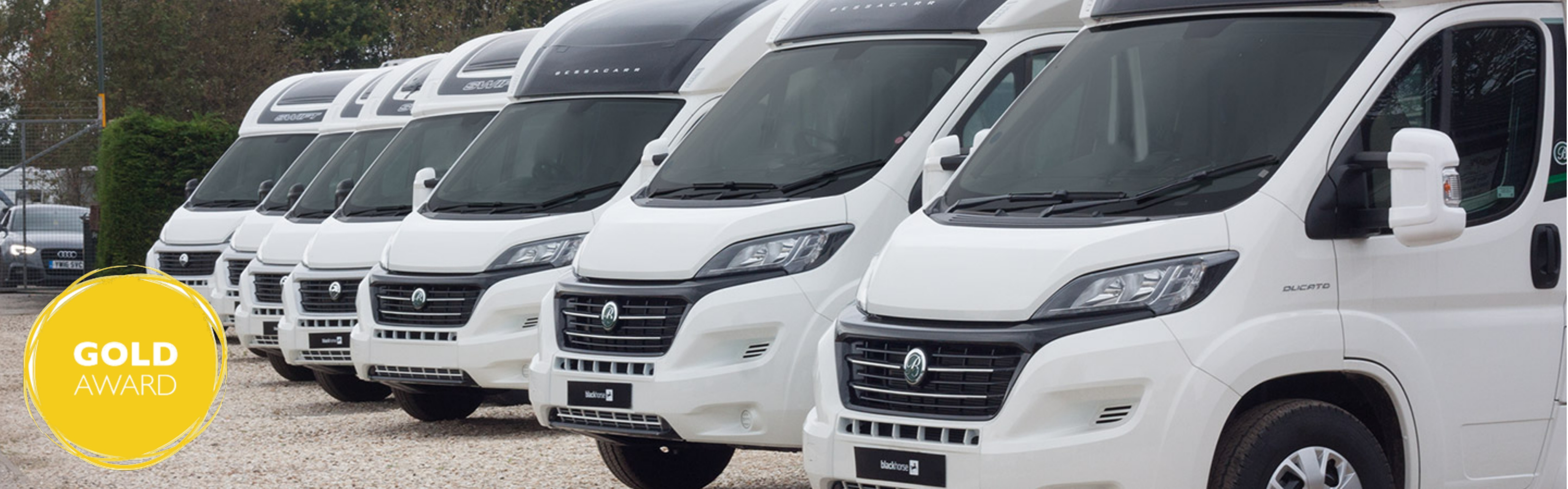 Store your new or used motorhomes at Wandahome - Block Image
