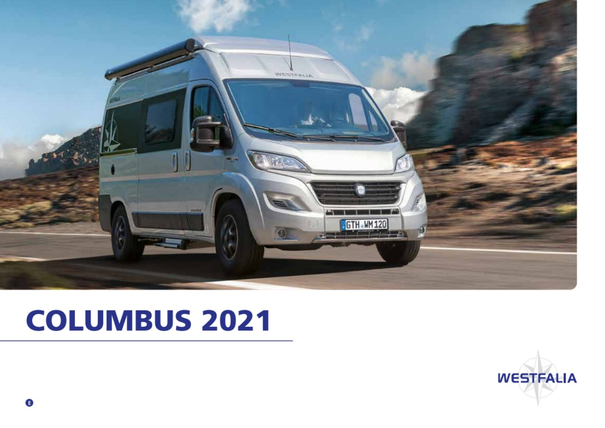 2021 Westfalia Columbus Brochure