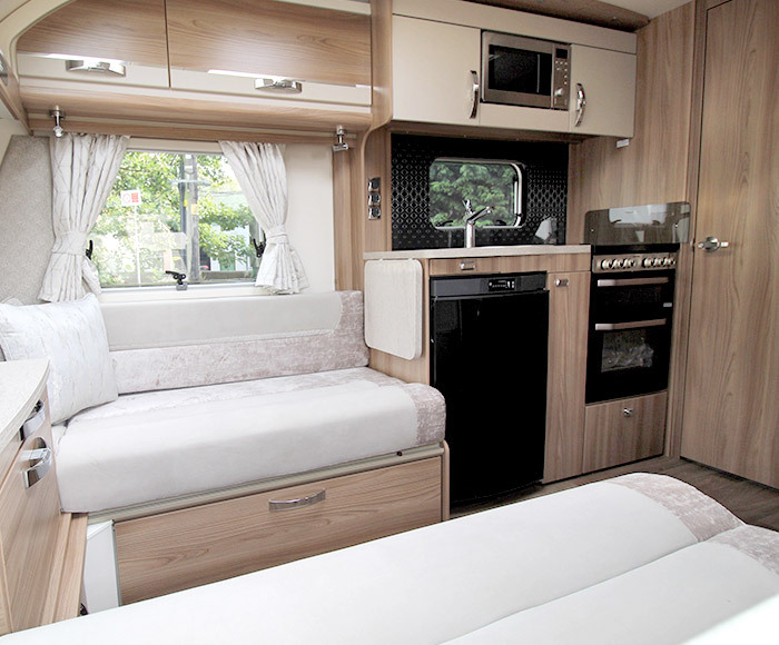 2021 Swift Corniche - perfect for a couple's retreat or family holidays - Block Image