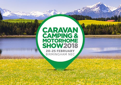 Caravan, Camping and Motorhome Show - NEC, Birmingham - See us there!