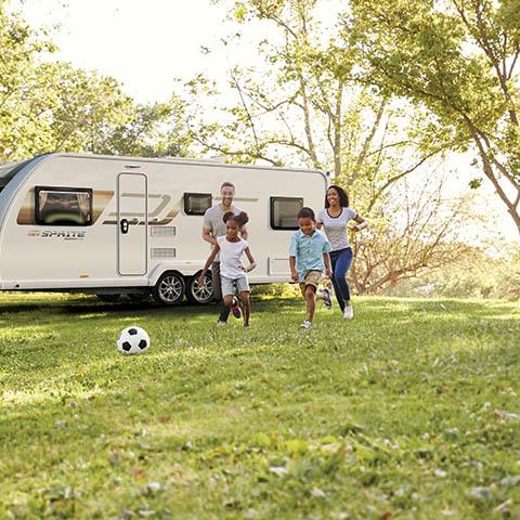 The Wide Appeal of an 8ft Caravan - Block Image
