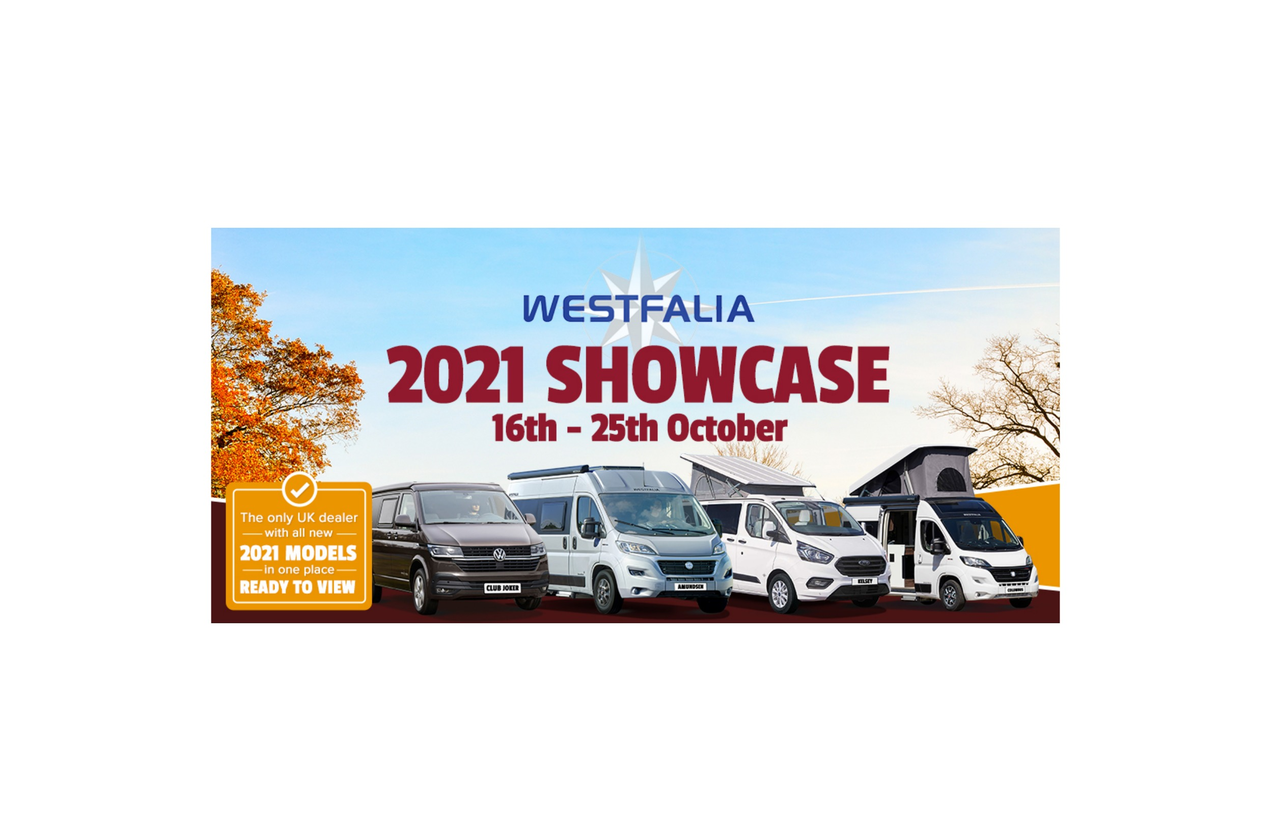 Westfalia 2021 Showcase Launch Event