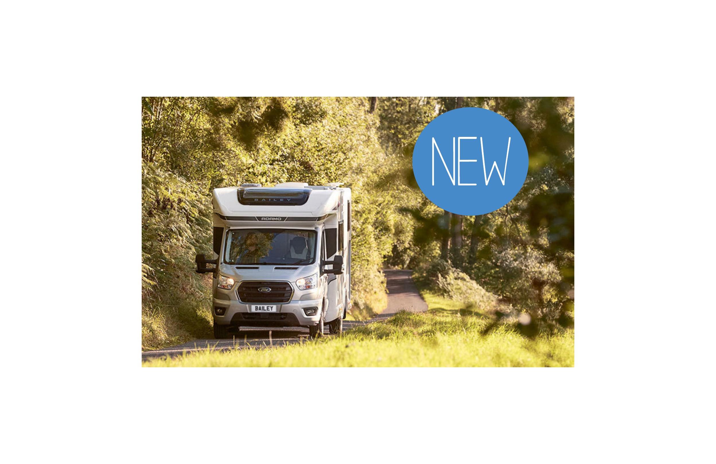 Bailey Launches New Motorhome Range