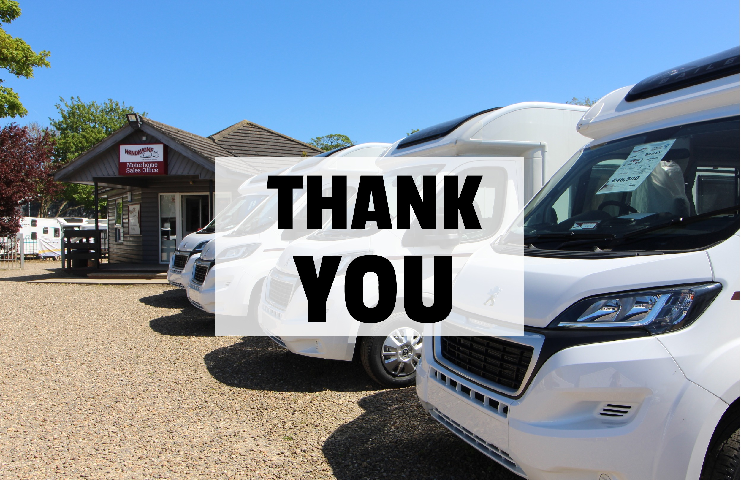 A Thank you from all at Wandahome South Cave