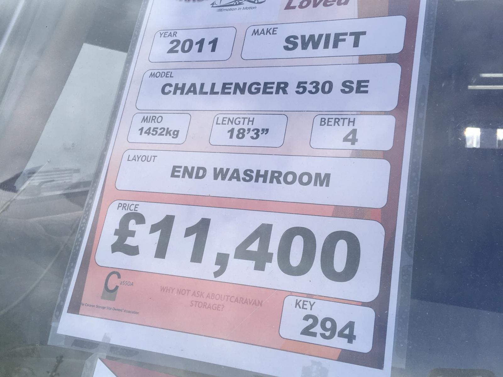 Swift Challenger 530 SE 2011 image