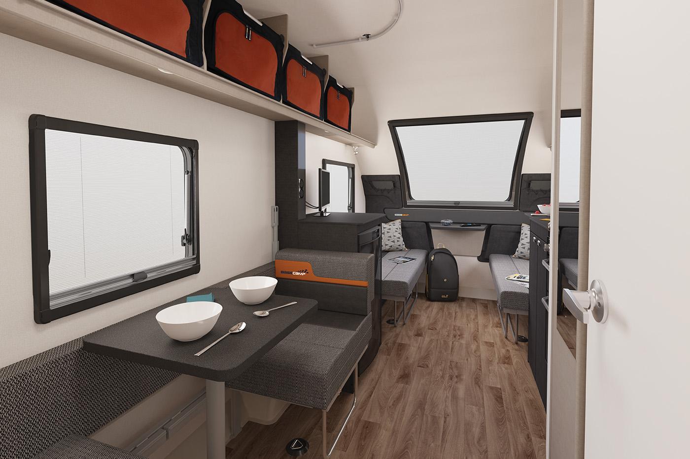 Swift Basecamp 4 SE. Four-berth caravan available at ...