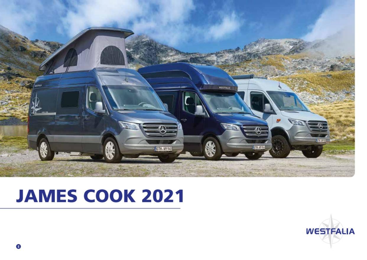 2021 Westfalia James Cook Brochure
