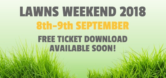 Lawns Weekend 2018!