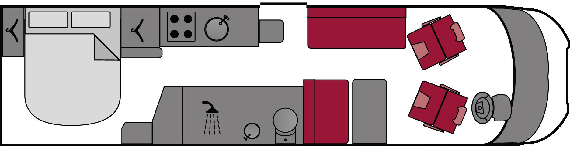 Swift Bessacarr 494 2015 Floorplan