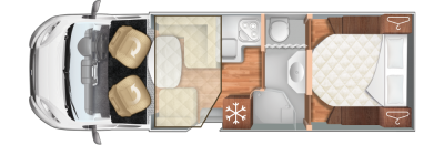 Roller Team T-Line 740 Floorplan