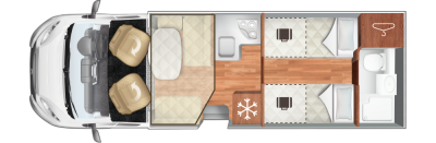 Roller Team T-Line 785 Floorplan