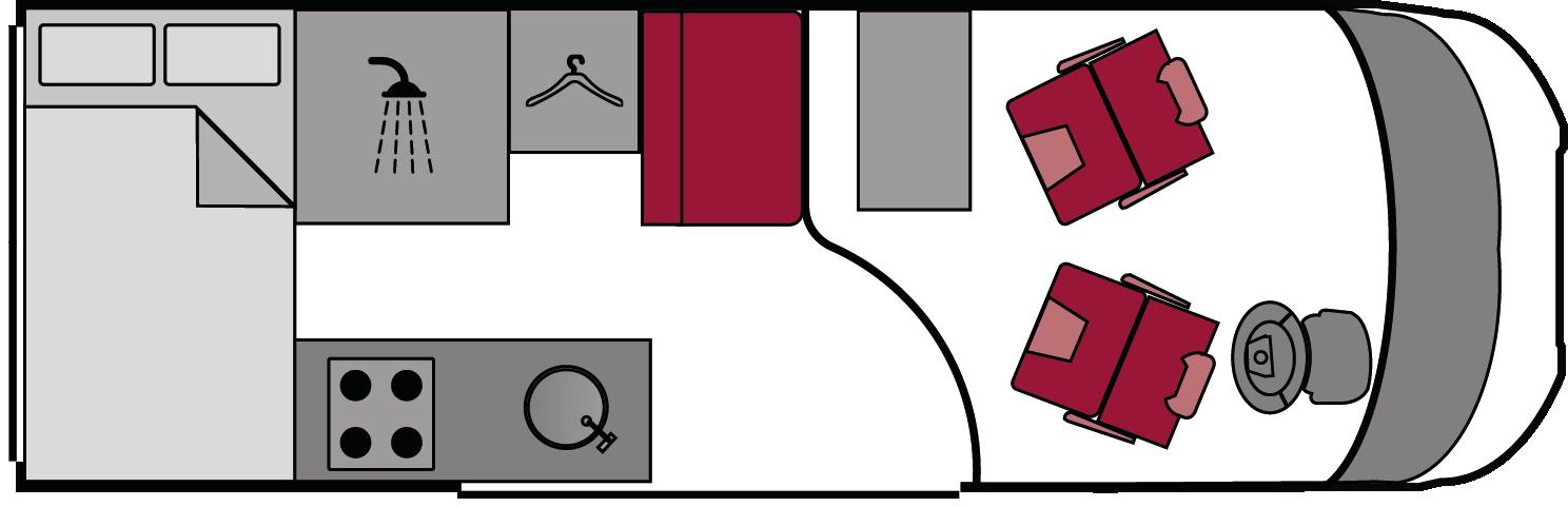 Adria Win 2.3 2004 Floorplan