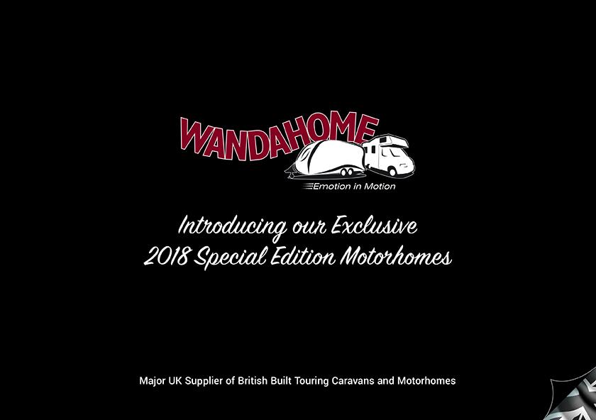 The 2018 Wandahome Motorhome Special Edition Brochure