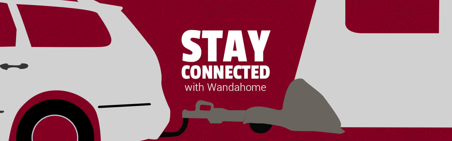Stay connected with Wandahome - Block Image