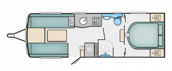 Swift Corniche 19/4 2022 - Wandahome Special Edition Floorplan